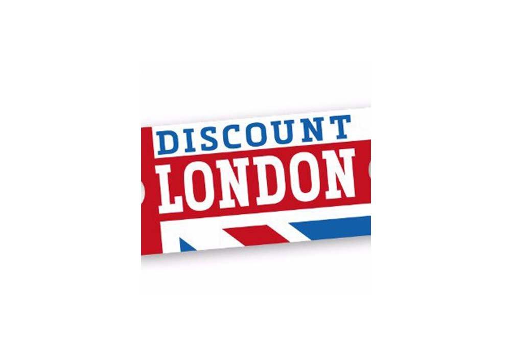 Discount London logo pagina promozioni