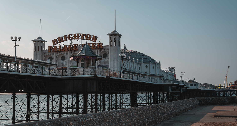 Brighton molo principale lungomare